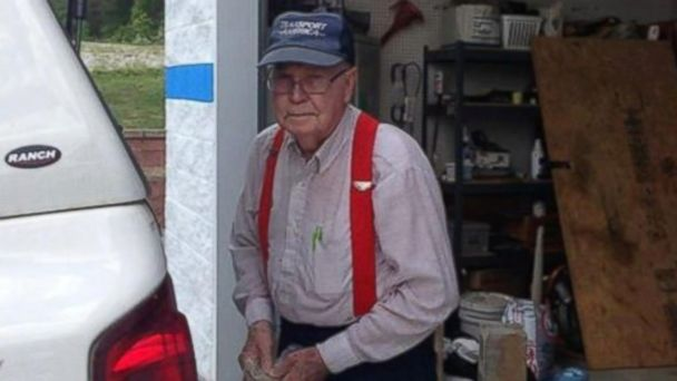 Johnny Jennings, 86, of Ringgold, Georgia, began recycling decades ago.