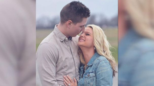 Greg Morris, 20, of Medina, Tennessee, proposed to Brooklyn Schrupp, 20, on Feb. 24 after playing on prank on her with the Gibson County Sheriff's Office of Trenton, Tennessee.