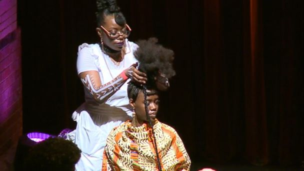 VIDEO: A look at the gravity-defying art form of Pan-African hair braiding