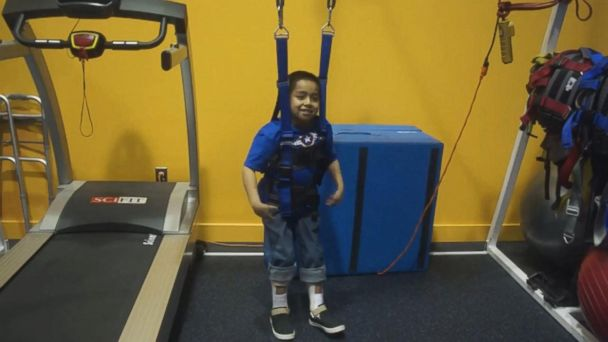 VIDEO: Paralyzed boy, 7, dances again after 2016 car accident