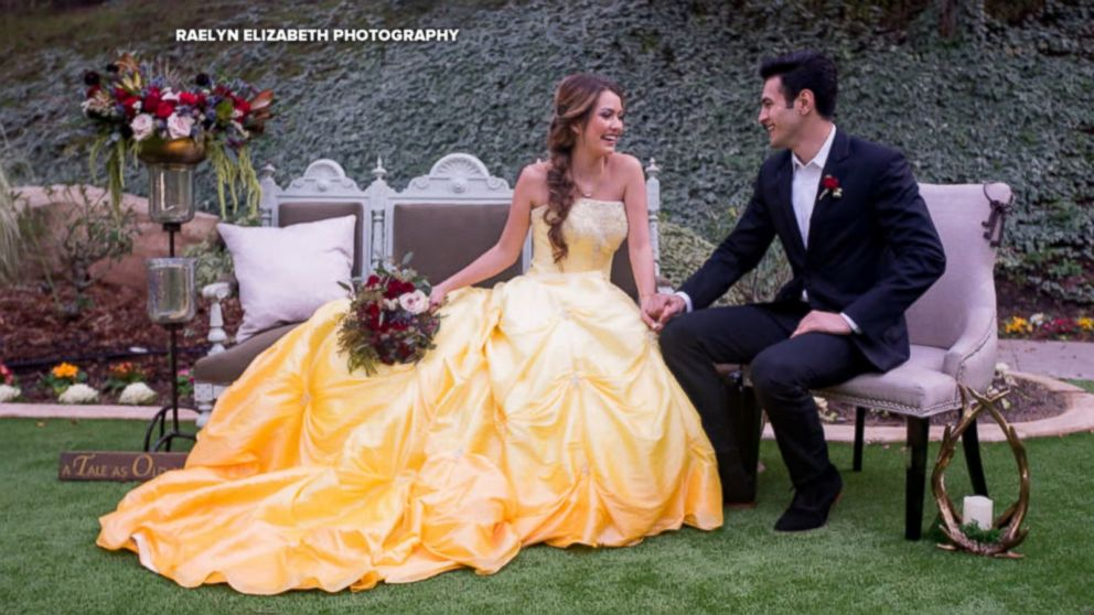 Enchanting Beauty And The Beast Wedding Shoot Will Inspire Belle Themed Brides
