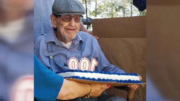 James Lindsey, of Vancleave, Mississippi, was honored on his 100th birthday with a surprise parade.