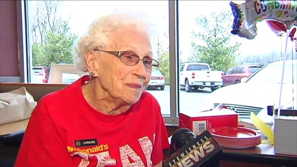 VIDEO: Loraine Maurer, a great-grandmother, said she can't retire.