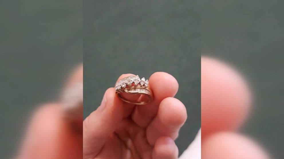 Woman Reunited With Diamond Ring Lost In Pond 13 Years