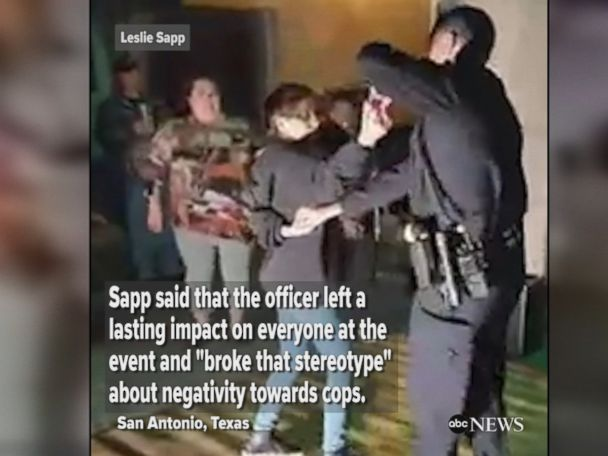 WATCH:  San Antonio police officer salsa dances
