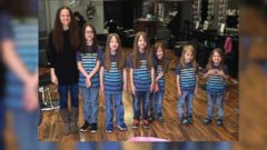 VIDEO: One family in Cheektowaga, New York donated more than 17 feet of hair to an organization that helps kids in need.
