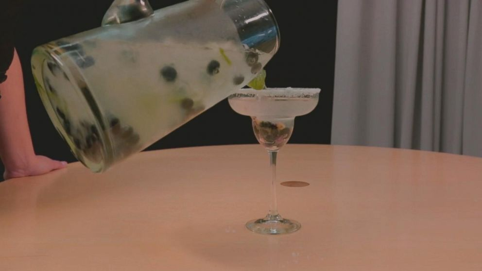 VIDEO: How to make blueberry margaritas