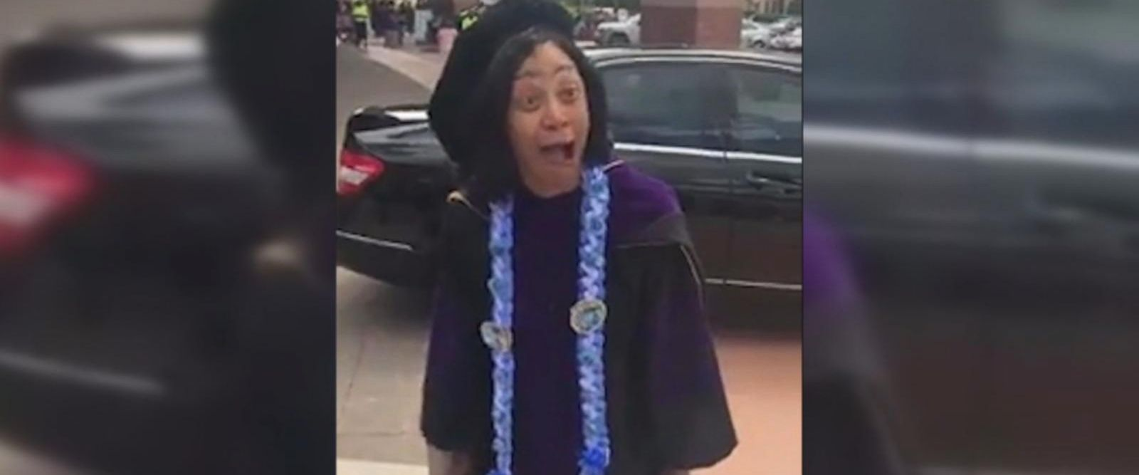 VIDEO: 64-year-old law school graduate gets dream car on graduation day