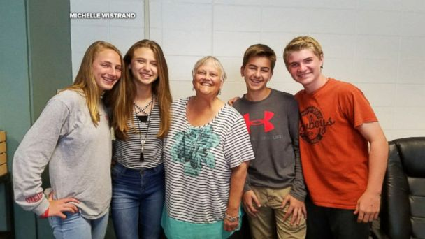 The students of Tomball Junior High School in Tomball, Texas, raised over $11,000 to send  their teacher Mrs. Michelle Wistrand on a vacation to see the redwoods in California.