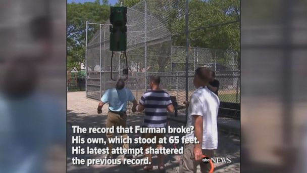 A New York man broke a record for