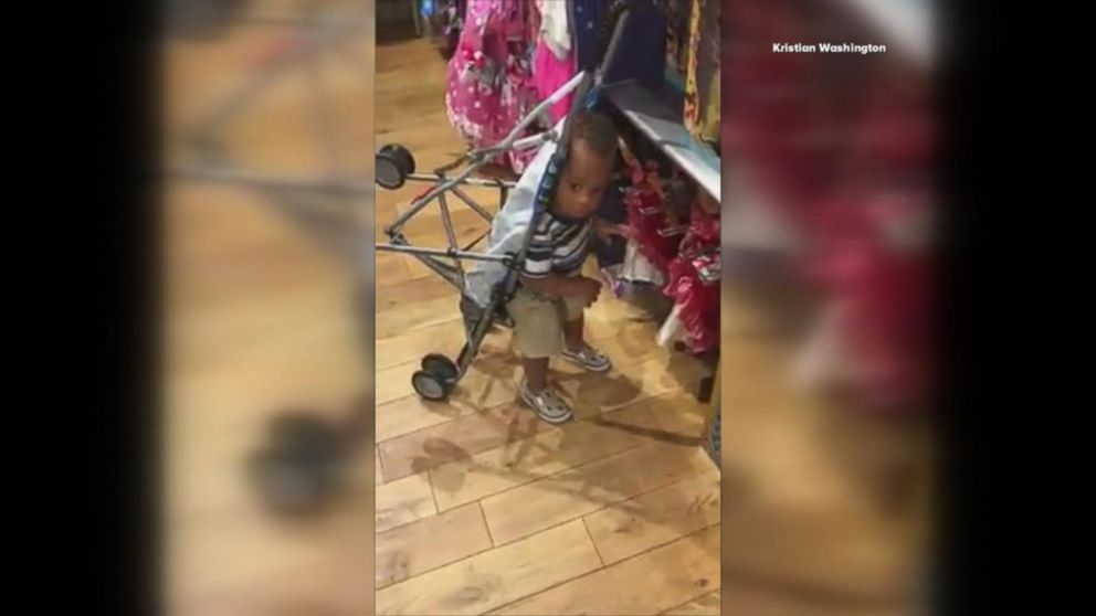 VIDEO: 1-year-old with genetic disorder isn't letting his stroller hold him back