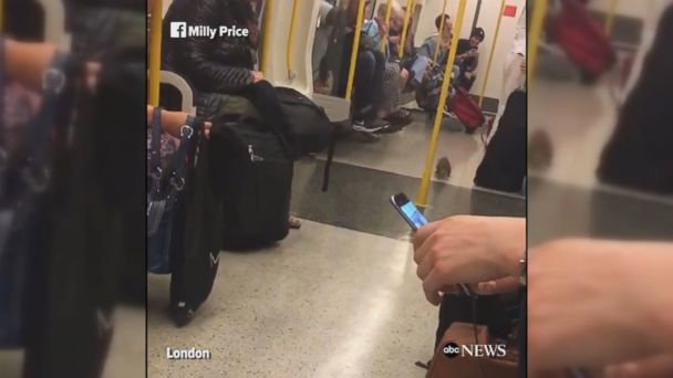 VIDEO: Squirrel causes havoc on the London Underground during the morning commute. The commuting rodent got off at the next stop.