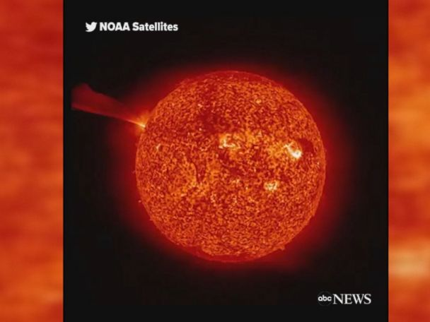 WATCH:  Massive explosion on the sun