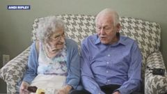 Donald and Vivian Hart of Grand Rapids, Michigan, celebrated their 80th anniversary at Pilgrim Manor assisted living facility.