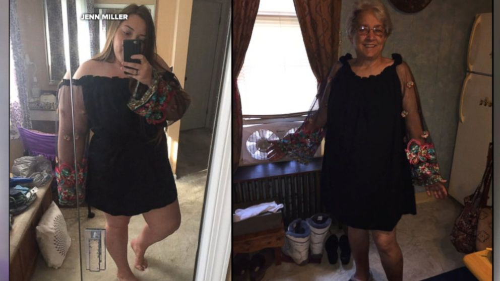 Grandma And Granddaughter Will Rock Same Dress To Family