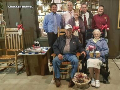 WATCH:  Couple on quest to visit every Cracker Barrel in America