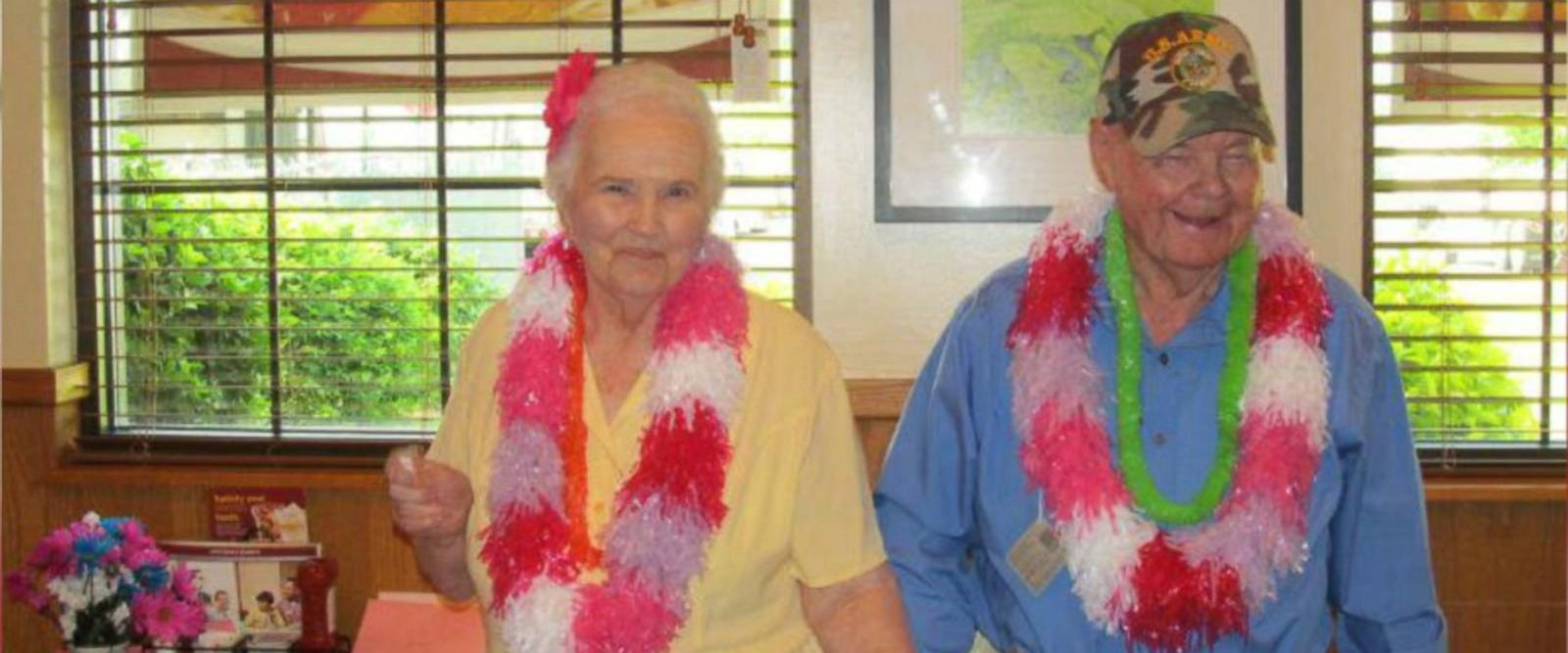 Robert and Marie Nowell had an early anniversary party with their family on Aug. 12 in Missouri.
