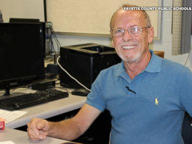 WATCH:  High school custodian earns degree to become teacher