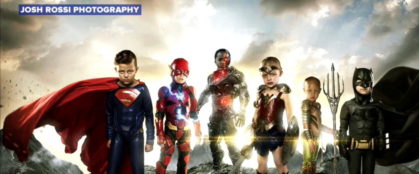 VIDEO: Photographer turns kids with disabilities into Justice League superheroes