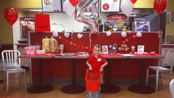 WATCH: 4-year-old with joint condition gets dream Target birthday party