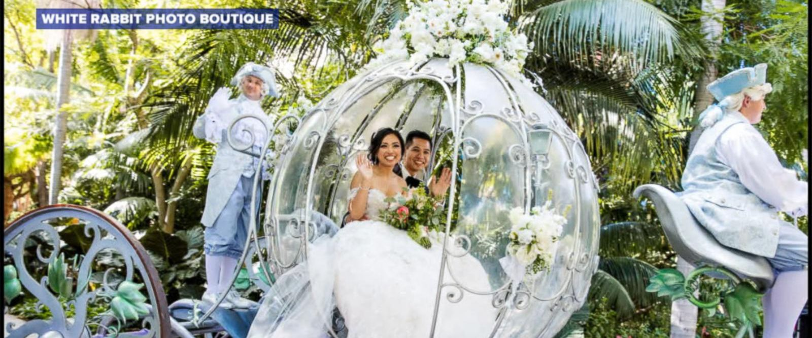 VIDEO: This couple's epic Fairy Tale Wedding at Disneyland will blow you away