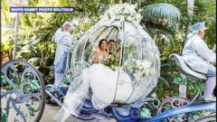 VIDEO: This couples epic Fairy Tale Wedding at Disneyland will blow you away
