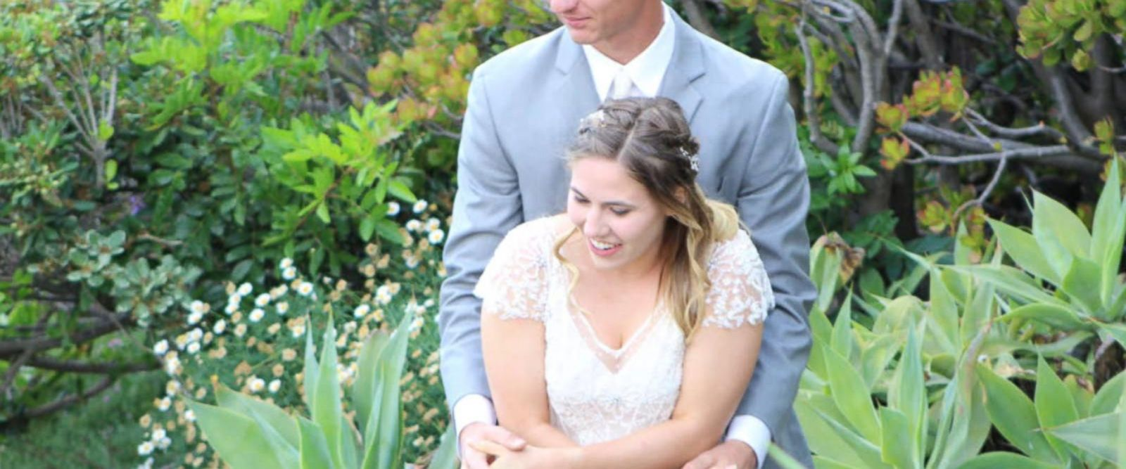 Heather and Kole Powell were married in Laguna Beach, California, and high tide washed away their wedding camera.