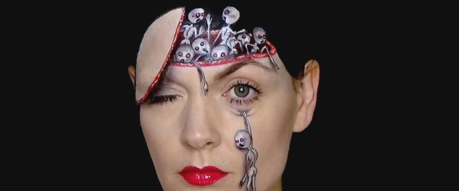 """Sammy Staines of Dorset, England, said she loves doing monster makeovers because """"there is no limit to what you can create with them."""""""