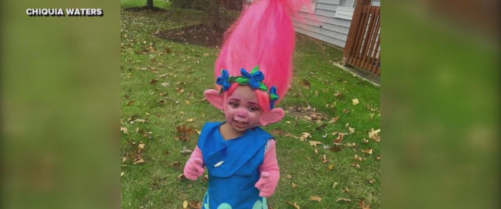 Chiquia Waters handmade outfit for her 1-year-old daughter is making waves on social media.