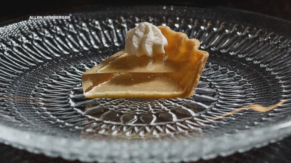 clear pumpkin pie how to make
