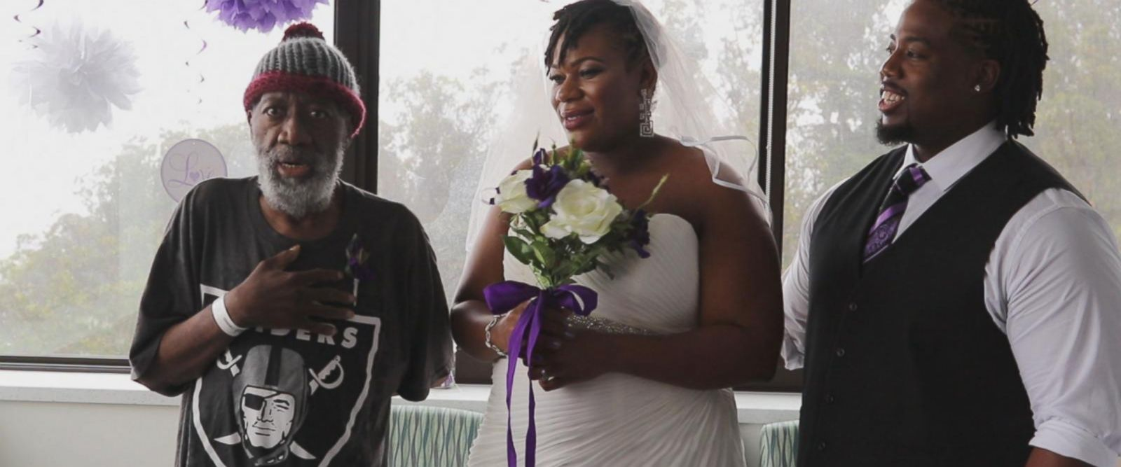 VIDEO: Bride surprises father fighting leukemia with wedding inside hospital