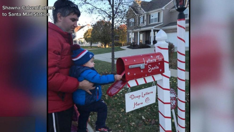 Family's Letters to Santa mailbox spreads Christmas magic with replies to each child