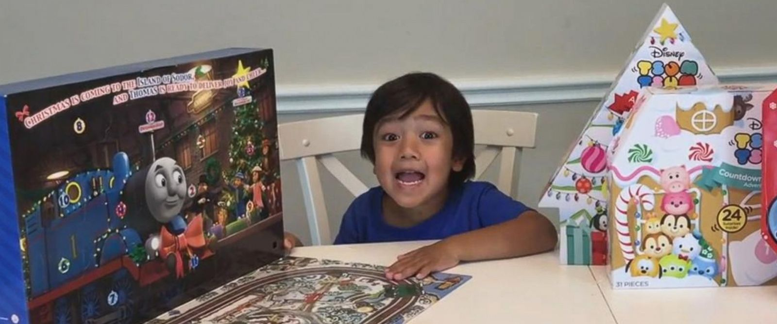 VIDEO: Ryan's Family Review has over 1 million YouTube subscribers and its 6-year-old star earns $11M annually reviewing new toys, according to Forbes.