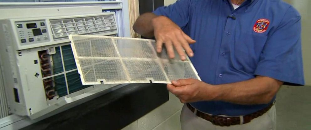 PHOTO: Experts recommend keeping AC units in a clear place to avoid potential fires.