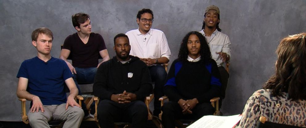 PHOTO: ABC News Deborah Roberts spoke to a group of millennial men about a new Harvard report on sex and relationships and their own experiences.
