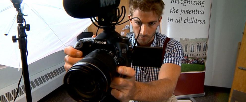 PHOTO: Chris Ulmer is the man behind the camera and the Facebook movement Special Books by Special Kids.