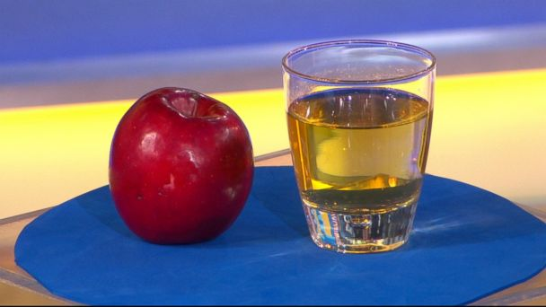 PHOTO: New recommendations say to limit fruit juice for young children.