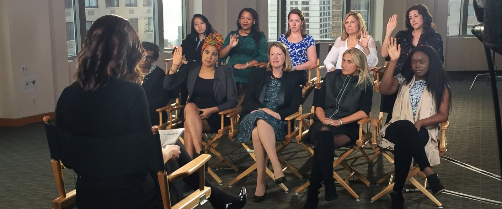 PHOTO: ABC News gathered 10 women from 10 different industries who opened up on experiencing sexual harassment in the workplace.