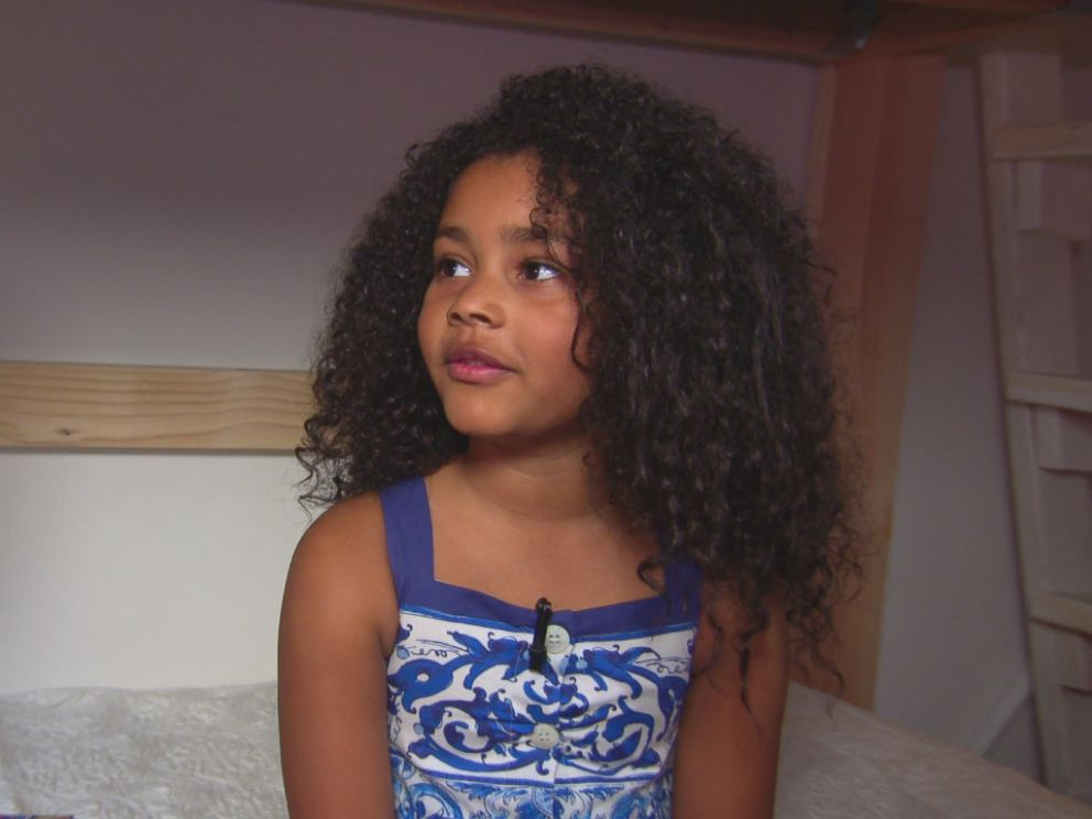 PHOTO: I have a lot of clothes, Haileigh Vasquez, 6, told ABC News.