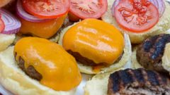 PHOTO: Robin Roberts BBQ Bacon Garlic Infused Burgers