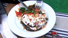 PHOTO: Mario Batalis Grilled Eggplant Parmesan