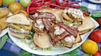 PHOTO: Emeril Lagasses BLT with Fried Green Tomatoes and Shrimp Rémoulade