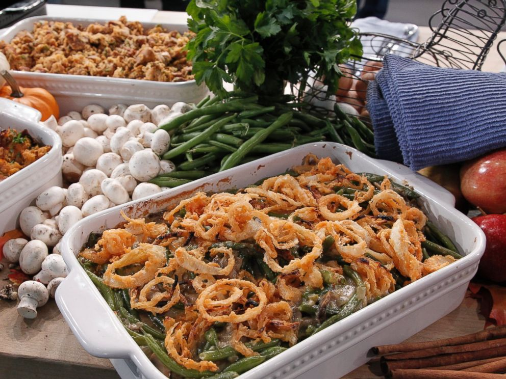 PHOTO: Emeril Lagasses Emerilized (From Scratch) Green Bean Casserole