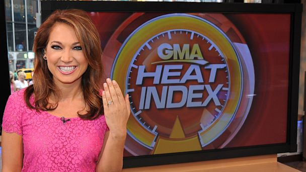 ABC ginger zee1 ml 130822 16x9 608 ABC News Meteorologist Ginger Zee Engaged to WNBCs Ben Aaron