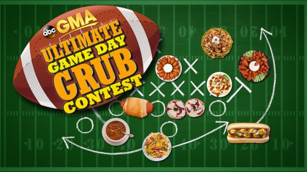 "PHOTO: Does your favorite Game Day recipe score major points with your friends and family? Then enter Good Morning Americas ""Ultimate Game Day Grub Contest""!"