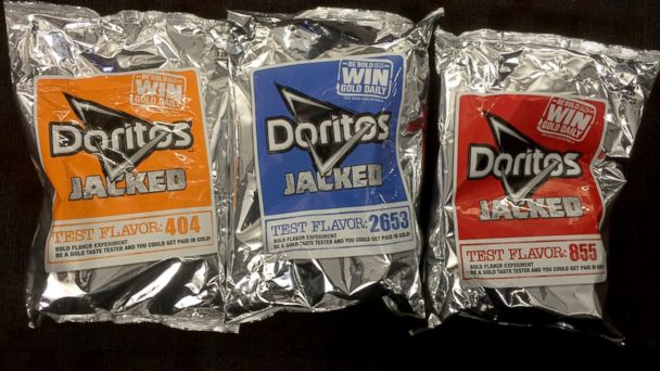 ABC mystery doritos jef 140428 16x9 608 Taste Test: What Are Those Mystery Doritos Flavors?