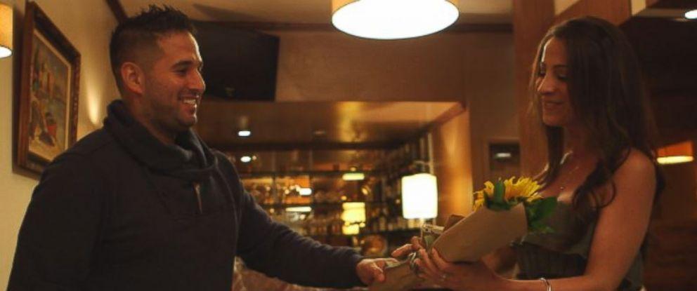 PHOTO: Pablo meets Cyndi on a date Pablo bid on through WhatsYourPrice.com.