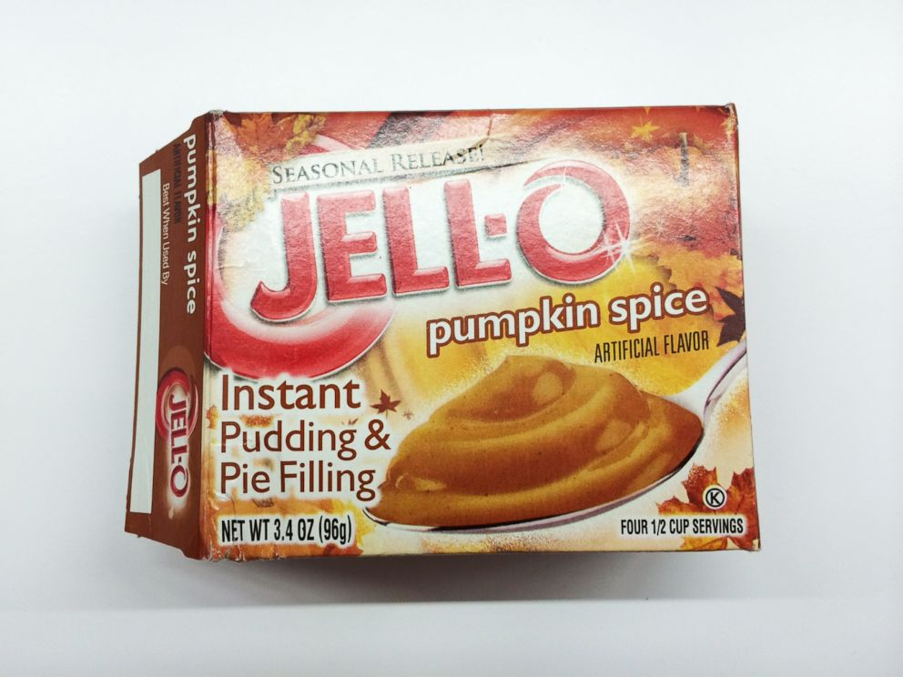 PHOTO: Jell-O Pumpkin Spice Instant Pudding