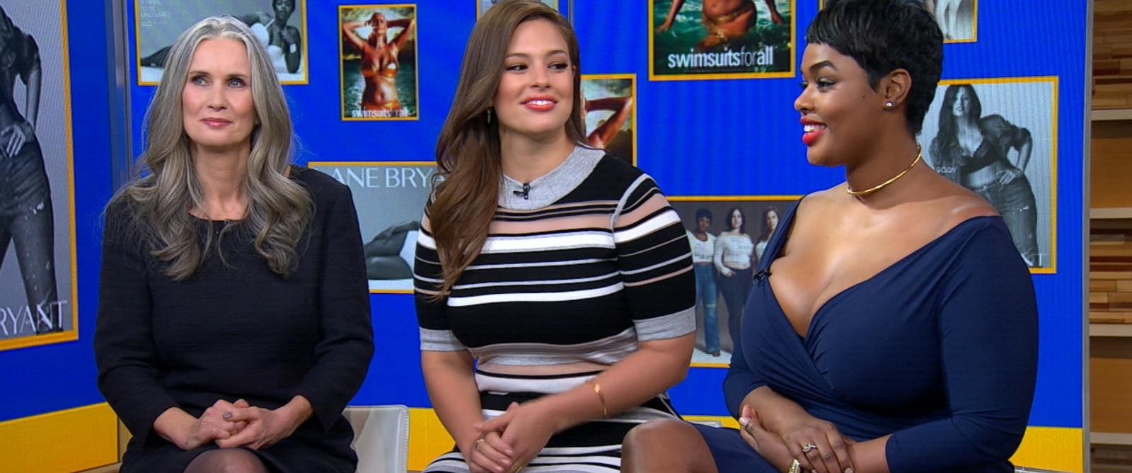 "PHOTO:Models Ashley Graham, Nicola Griffin and Precious Lee discussed their barrier-breaking appearances in Sports Illustrateds annual Swimsuit Issue on ""Good Morning America."""