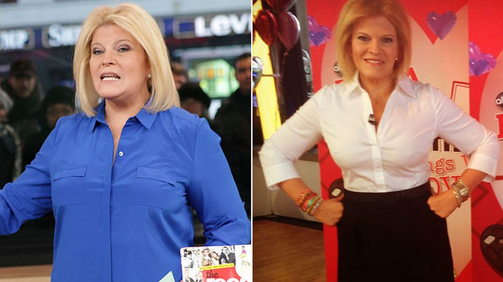 PHOTO: Tory Johnson before and after her weight loss.